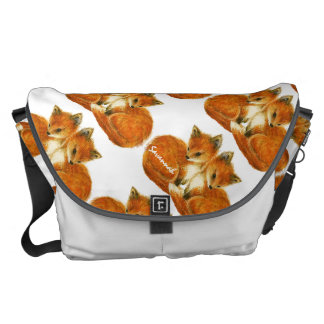 Baby Twin Foxes Commuter Bags