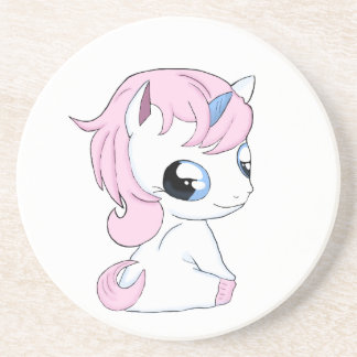 Baby unicorn coaster