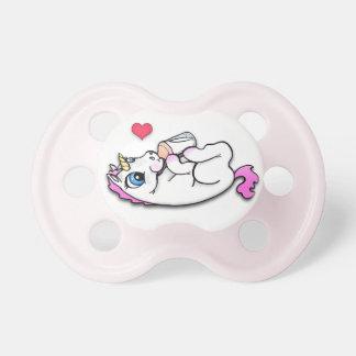 Baby unicorn feeding time - Pink Girl - Pacifier