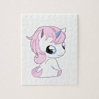 Baby unicorn jigsaw puzzle