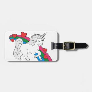 Baby Unicorn Luggage Tag