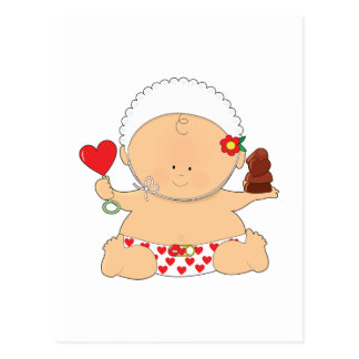 Baby Valentines Postcard