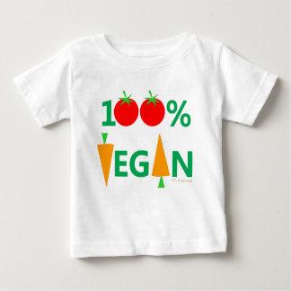 Baby Vegan Cute Cartoon Vegetables Humorous Baby T-Shirt