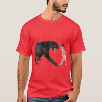 Baby vs. Leopard T-Shirt