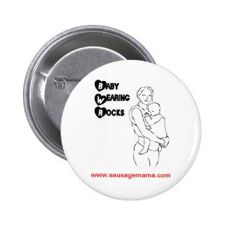 Baby Wearing Rocks SMATS Badge Pin