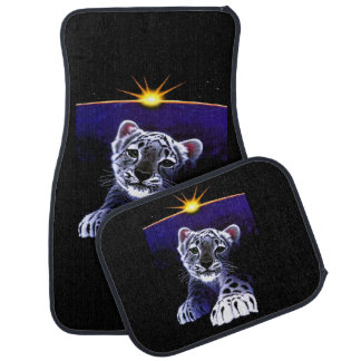 Baby White Tiger Car Mat