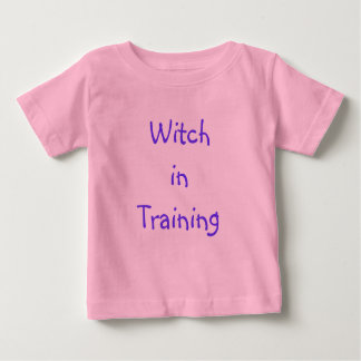 Baby Witch in Training Baby T-Shirt