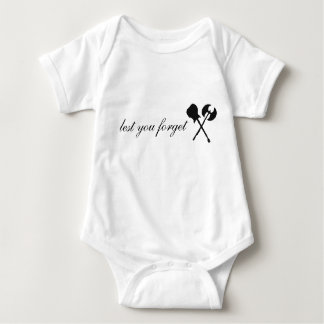 Baby with Axe Logo Tee Shirts