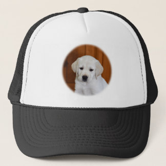 Baby Yellow Lab Trucker Hat