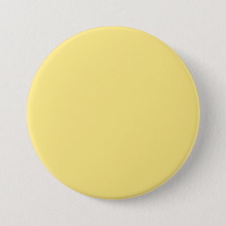 Baby Yellow Personalized Trend Color Background 7.5 Cm Round Badge
