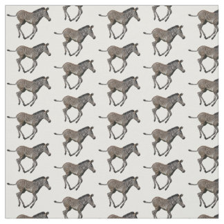 Baby Zebra Frenzy Fabric (choose colour)