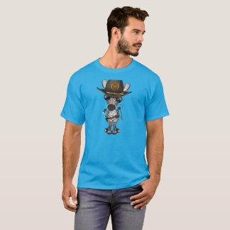 Baby Zebra Zombie Hunter T-Shirt