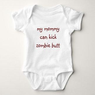 BABY ZOMBIE BUTT KICKER ONE-SIE BABY BODYSUIT