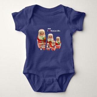 Babybody Matrjoschka, Matryoshka, babushka Baby Bodysuit