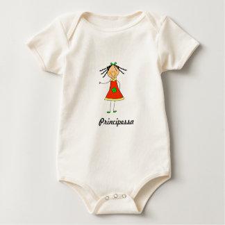 """Babybody """"Principessa """" Baby Bodysuit"""