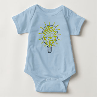 Babybody with bulb baby bodysuit