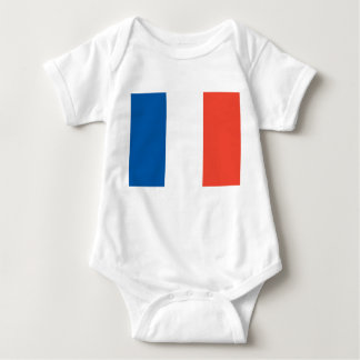 Babybody with France flag Baby Bodysuit