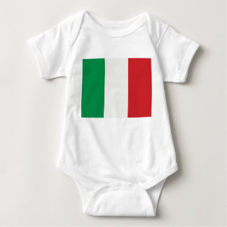 Babybody with Italy flag Baby Bodysuit