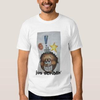 babyboy, jus scriblin' tee shirts