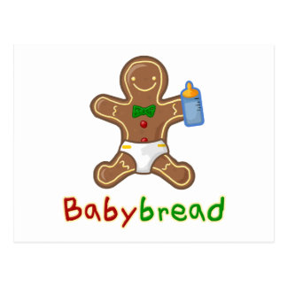 Babybread Gingerbread Man Postcard