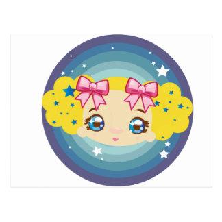 BabyBu blonde Postcards