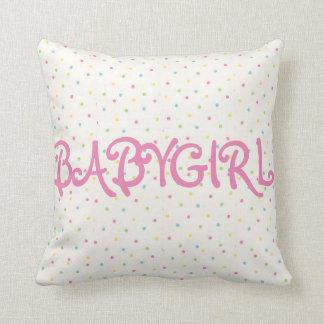 Babygirl pillow