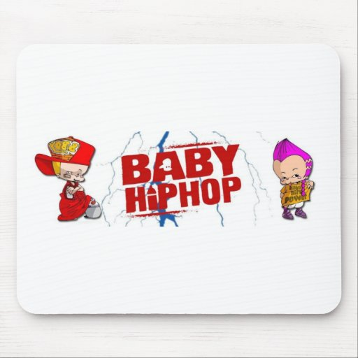 BabyHipHop Mouse Pads