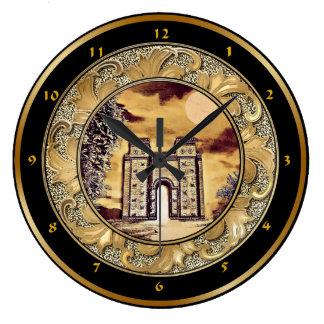 Babylon Ishtar Gate Wall Clock
