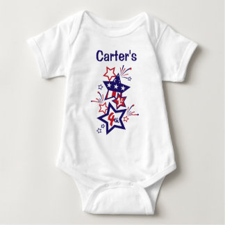 Baby's 1st 4th of July Bodysuit My 1st 4th Shirt