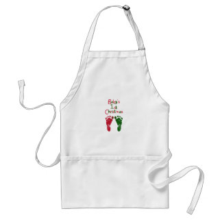 Baby's 1st Christmas Standard Apron