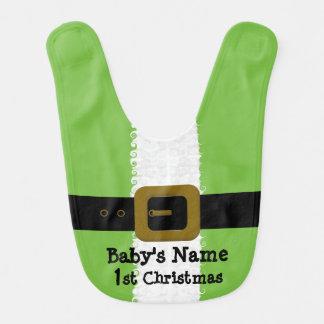 Baby's 1st Christmas Elf Bib