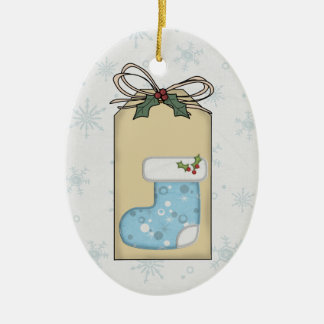 Baby's 1st Christmas Gift Tag Ornament
