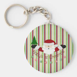 Babys 1st Christmas Key Chains