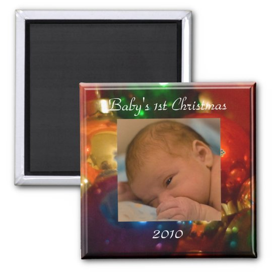baby's 1st Christmas Magnet