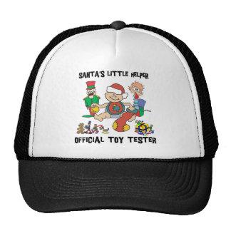 Baby's 1st Christmas Santa's Little Helper Gift Mesh Hats