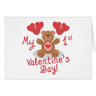 Baby's 1st Valentine's Day Card