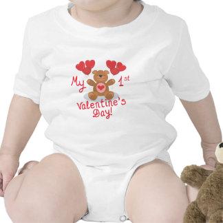 Baby's 1st Valentine's Day Baby Creeper