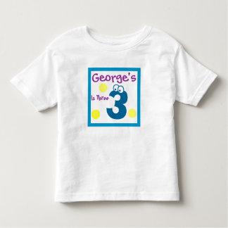 baby's 3rd Birthday, baby's third T Shirts