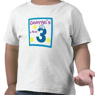 baby's 3rd Birthday, baby's third Tee Shirts