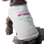 Baby's Big Sister Dog Tee