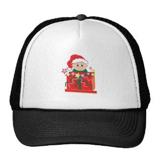 Baby's Christmas Trucker Hat