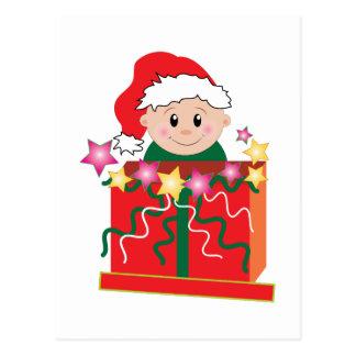 Baby's Christmas Postcards
