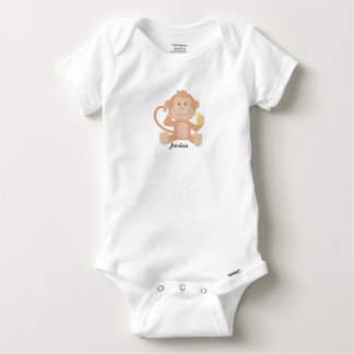 Baby's Cute Baby Monkey Baby Onesie