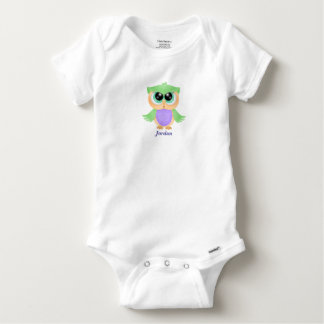 Baby's Cute Baby Owl Baby Onesie