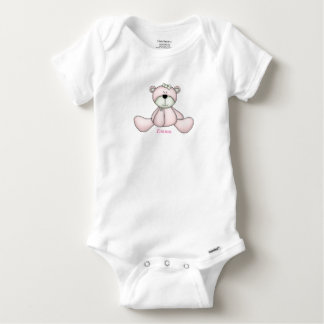 Baby's Cute Baby Teddy Bear Baby Onesie