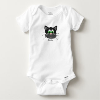 Baby's Cute Cat Baby Onesie