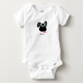 Baby's Cute Dog Baby Onesie