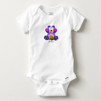 Baby's Cute Teddy Bear Baby Onesie