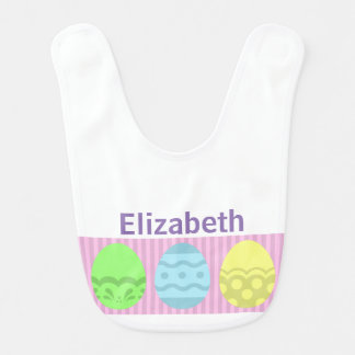 Baby's Easter Egg - Personalized Bib