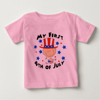 Baby's First 4th of July Tshirt